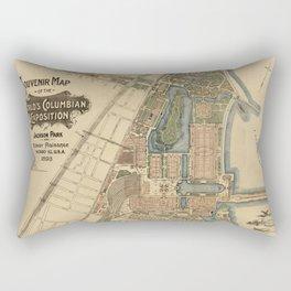 Chicago World Exposition 1893 Rectangular Pillow