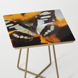 Summer Butterfly Side Table