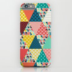 llama geo triangles iPhone 6 Slim Case