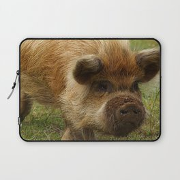 March of the Ginger Pig Laptop Sleeve