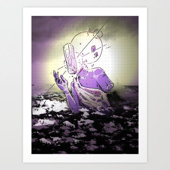 ▩ #RARE# CLOUDS ▩ Art Print