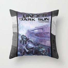 Under the Dark Sun - Journey Throw Pillow