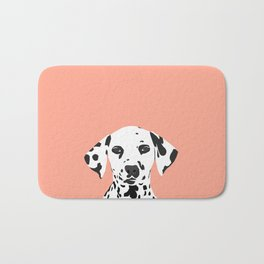 Casey - Dalmation art print phone case decor for pet lover and dog lover Bath Mat