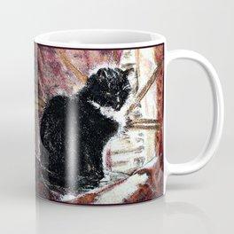 CAT ENJOYING THE SUN Coffee Mug