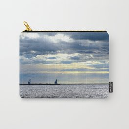 Sea Sunny Cloudy Carry-All Pouch