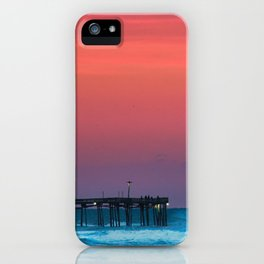 Sunset by the Avalon Pier iPhone Case