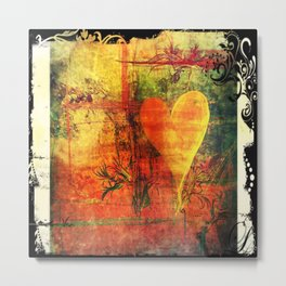 Warm hearted. Metal Print