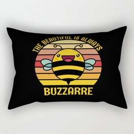 Beautiful Is Always Buzzarre Beekeeper Rectangular Pillow