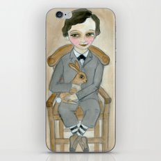 Nicolas - A Hand Painted Victorian Orphan Child Portrait iPhone & iPod Skin