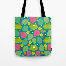 Frogs pattern Tote Bag