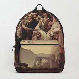 Francesco Hayez - The Refugees of Parga Backpack