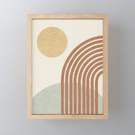 Sunny Hill Framed Mini Art Print