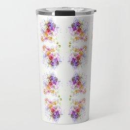 Sweet Flowers Watercolour Travel Mug