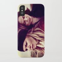 swan queen iPhone & iPod Cases featuring Swan Queen - Lost on Land by Two Swen Idiots