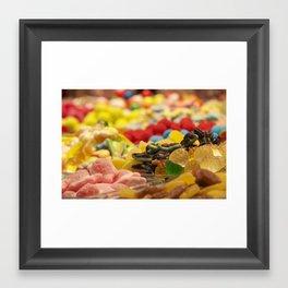 Candy World Framed Art Print