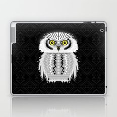 Geometric Snowy Owl Laptop & iPad Skin