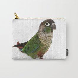 Zeph - Green Cheek Conure Carry-All Pouch