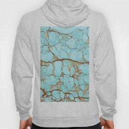 Rusty Cracked Turquoise Hoody