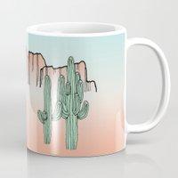 arizona Mugs featuring Arizona by Mrs. Ciccoricco