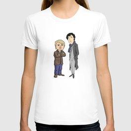 sherlock and john 2 T-shirt