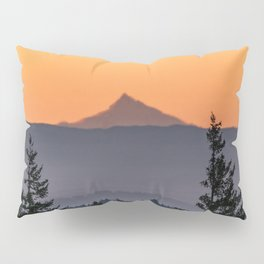 Mount Jefferson Morning - Nature Photography Pillow Sham
