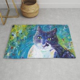 Cat Impressionistic Rug