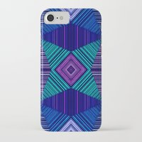 tapestry iPhone & iPod Cases featuring Tapestry  by Truly Juel