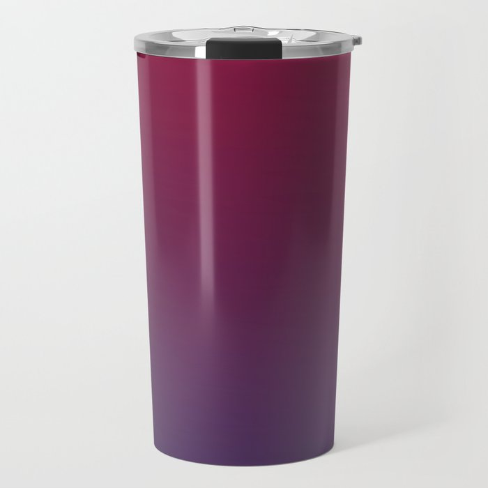 DESTINATION - Minimal Plain Soft Mood Color Blend Prints Travel Mug