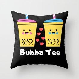 Bubba Tee! Throw Pillow