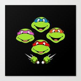 Ninja Turtles Rhapsody Canvas Print