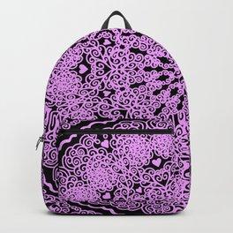 Mandala Project 234 | Pink Filigree & Hearts Backpack