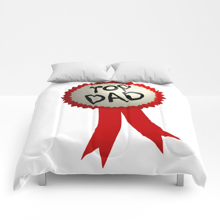 Dad Badge Comforters