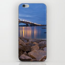 Twilight at Yorktown Beach iPhone Skin