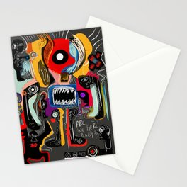 Are we really here ? Street Art Graffiti Stationery Cards