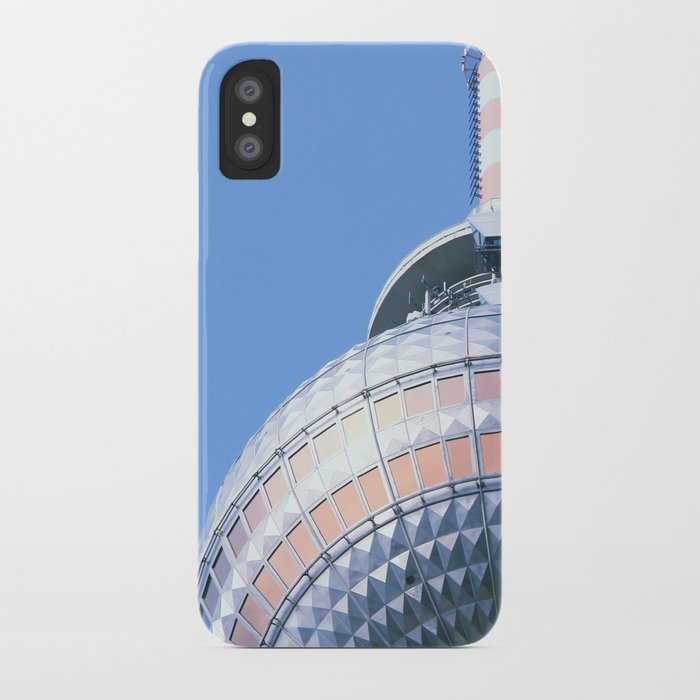 Berlin TV Tower iPhone Case