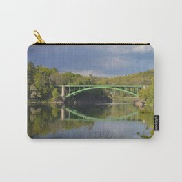 Summer Storm Clouds - Delaware River Carry-All Pouch