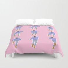 Hotline bling (pink) Duvet Cover