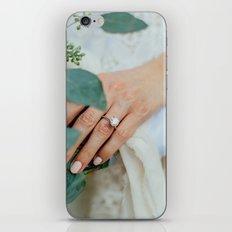 Diamond Engagement Ring iPhone & iPod Skin