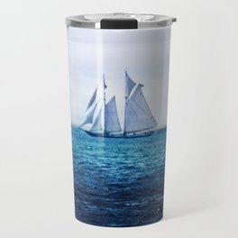 Sailing Ship on the Sea Travel Mug