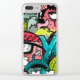 YO! Clear iPhone Case
