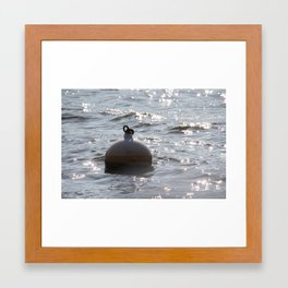 Glimmering Light Framed Art Print