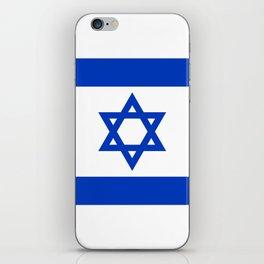 Israel Flag - High Quality image iPhone Skin