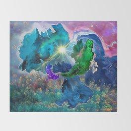 Wonderland Throw Blanket