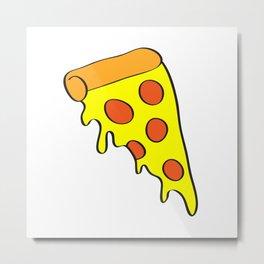 i want pizza Metal Print