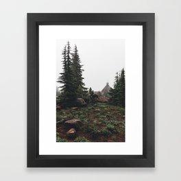 Timberline Lodge Framed Art Print