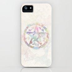 Devil's Trap Supernatural Watercolour iPhone (5, 5s) Slim Case