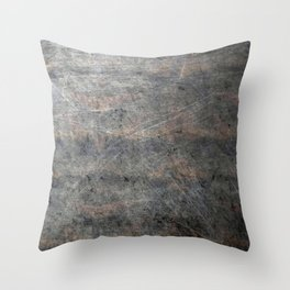 Scratched Suede Velvet Mouse - Navy Gradient Throw Pillow