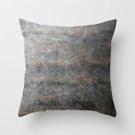 Suede Velvet Mouse - Navy Gradient Throw Pillow