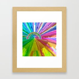 Rainbow Two Framed Art Print
