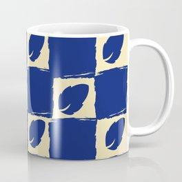 Leaf Blue Coffee Mug